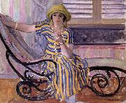 Lebasque, Henri La Cigarette oil painting artist
